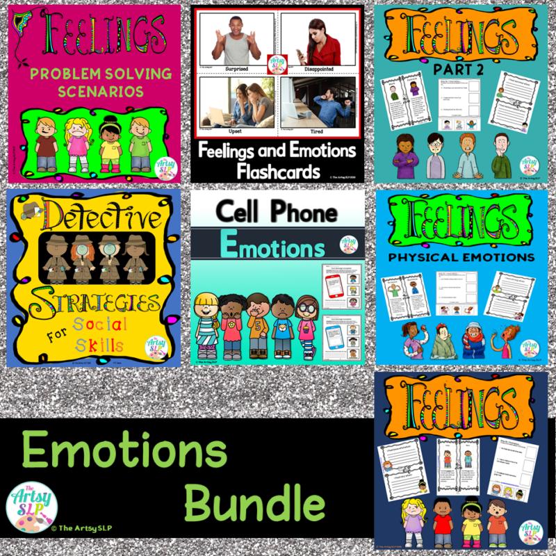 Feelings and Emotions Activities Bundle